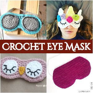 Crochet Eye Mask