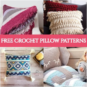 Cute Free Crochet Pillow Patterns