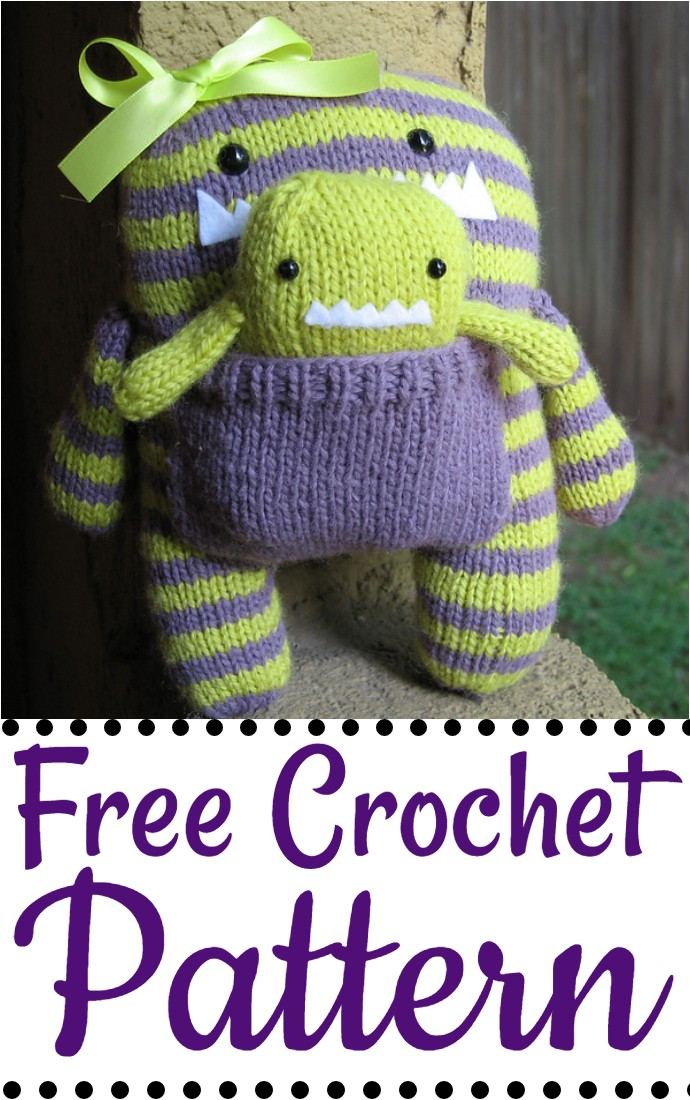 Free Crochet Knitted Monsters