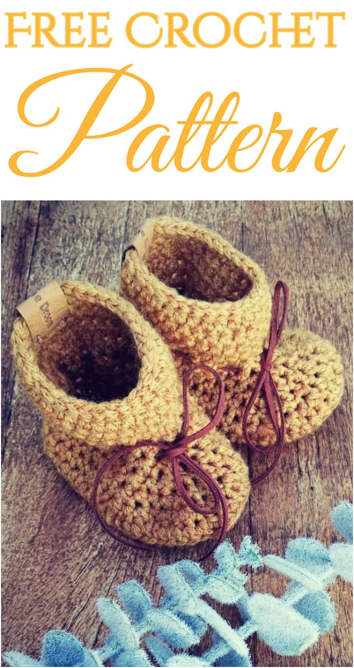 How To Baby Bootie Crochet Pattern
