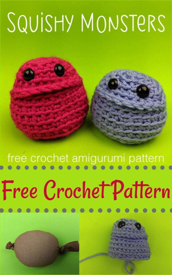 Squishy Monster A Free Amigurumi Pattern