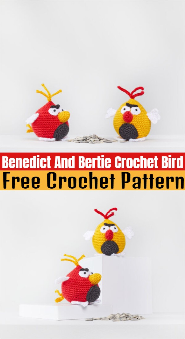 Benedict And Bertie Crochet Bird