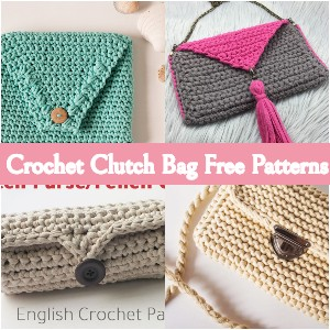 Crochet Clutch Bag Free Patterns