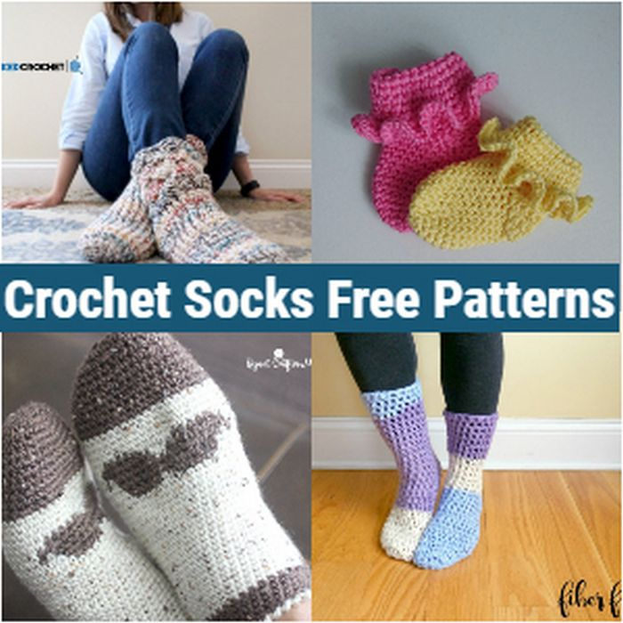 Crochet Socks Free Patterns