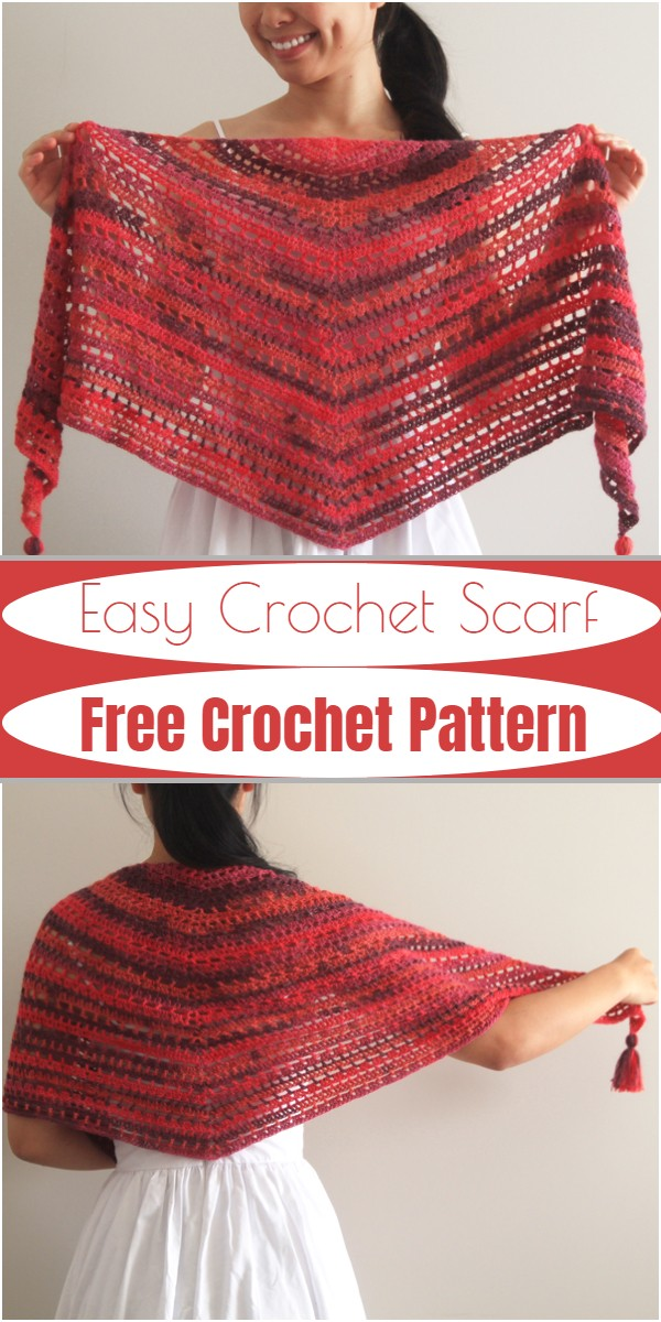 Easy Crochet Scarf Free Pattern