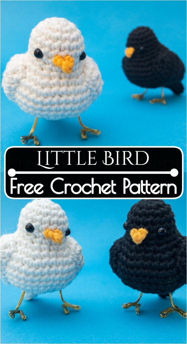 Little Bird Free Crochet Pattern