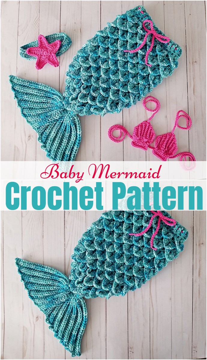 Baby Mermaid Pattern