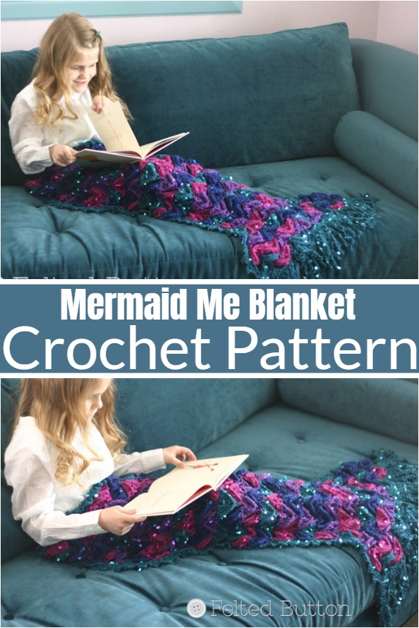 Mermaid Me Blanket