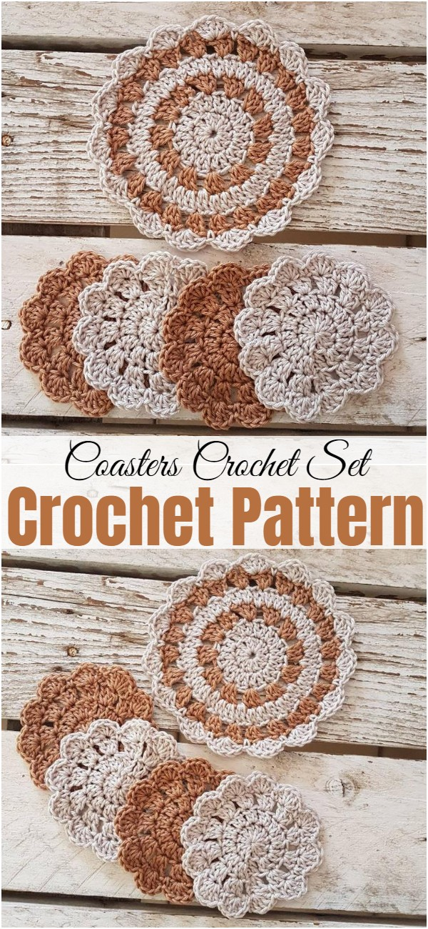 Coasters Crochet Set