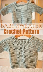 Crochet Baby Sweater 9