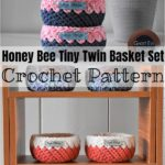 Gorgeous And Stylish Crochet Basket Patterns