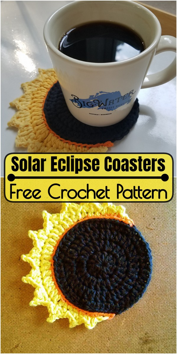 Solar Eclipse Coasters