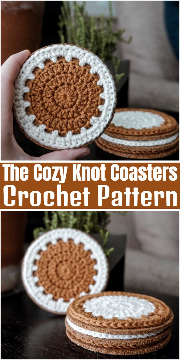 The Cozy Knot Coasters