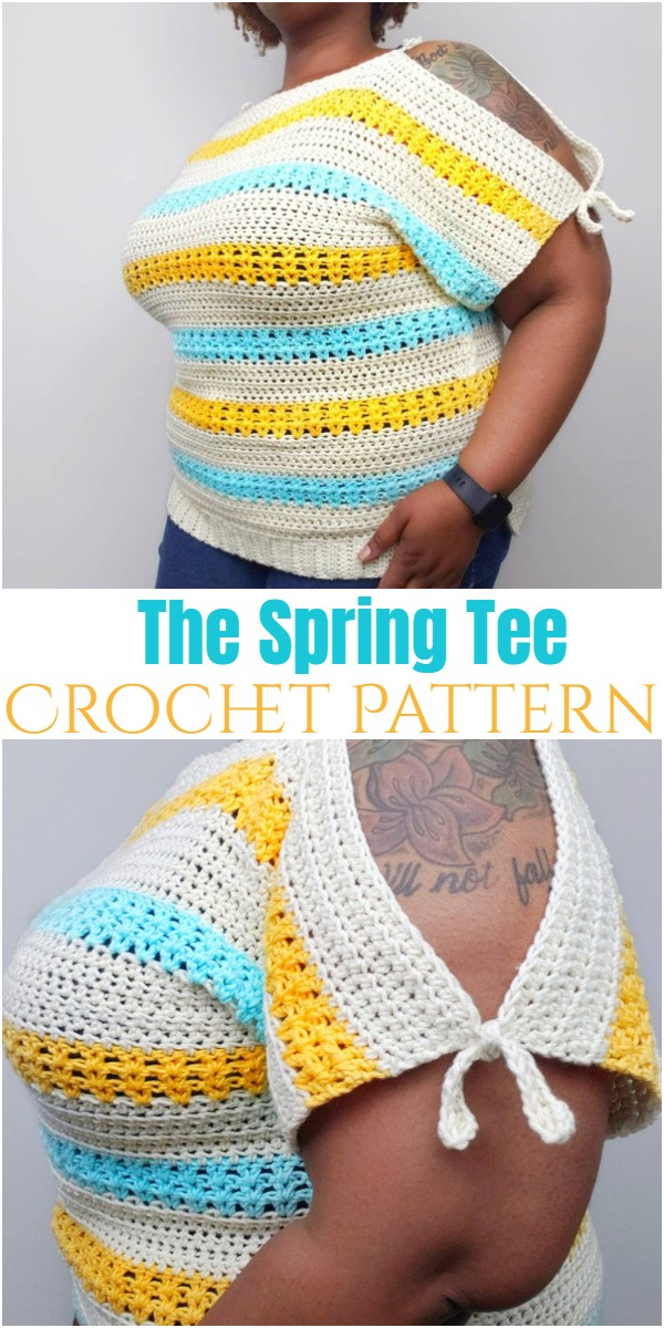 The Spring Tee Crochet Pattern