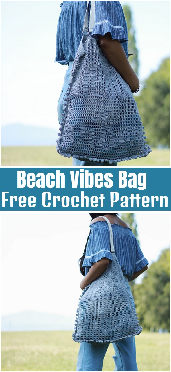 Beach Vibes Bag Free Crochet Pattern