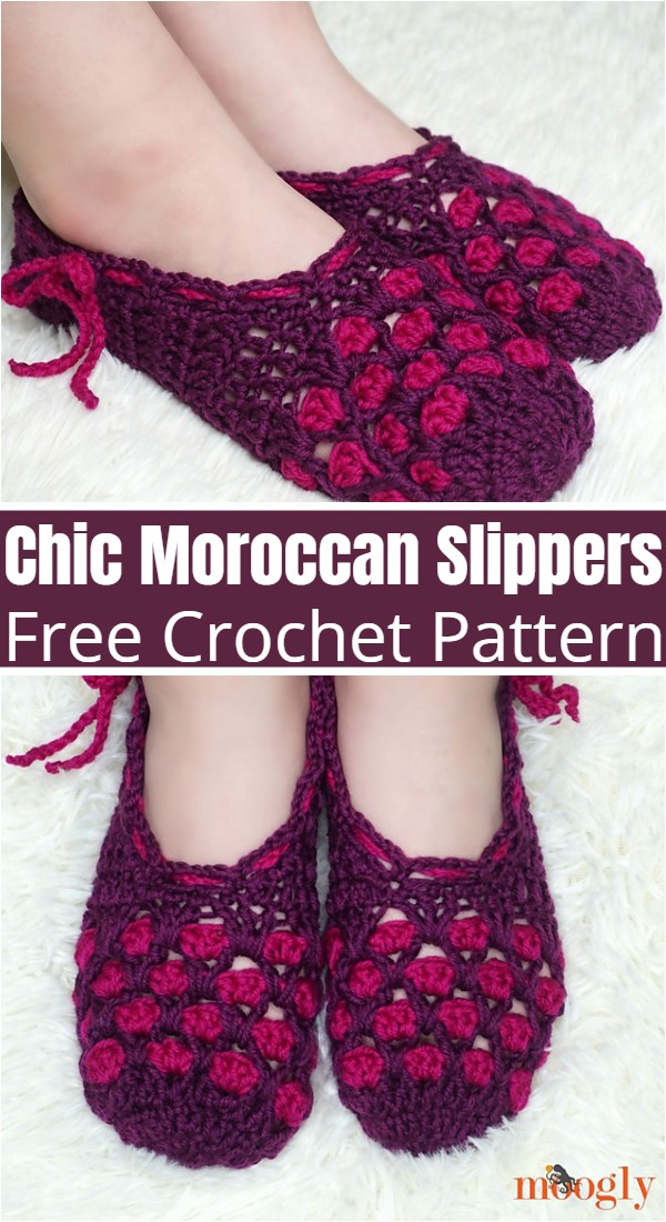 Chic Moroccan Slippers
