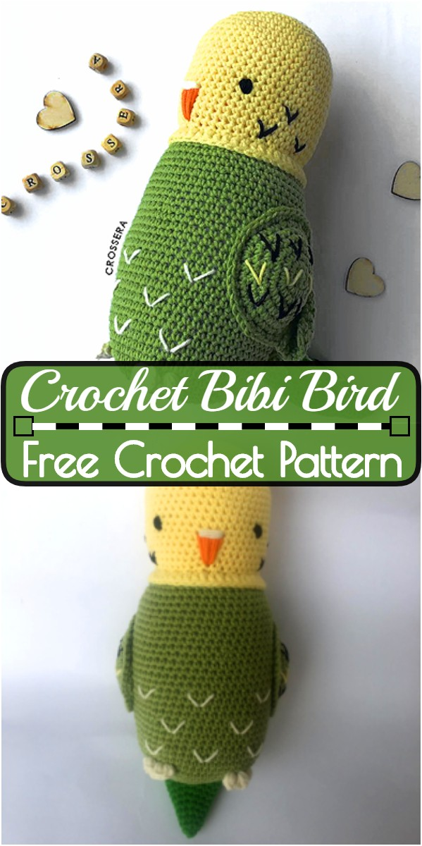 Crochet Bibi Bird Pattern