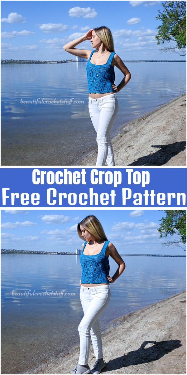 Crochet Crop Top Free Pattern