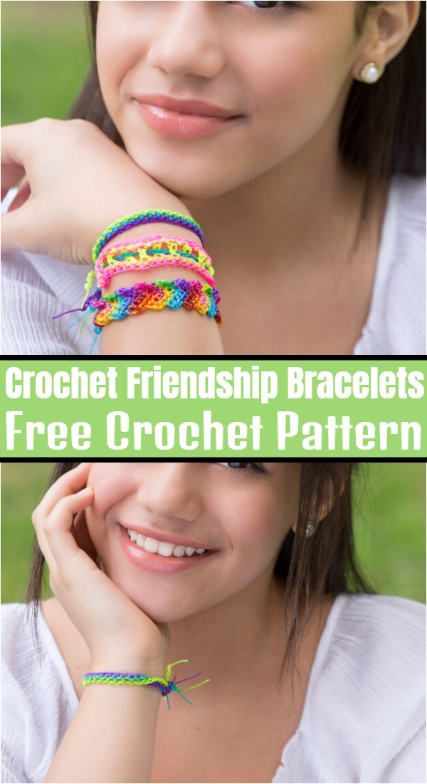 Crochet Friendship Bracelets
