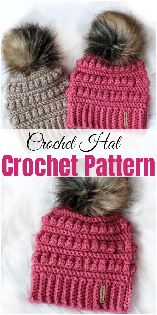 Crochet Hat Pattern 1