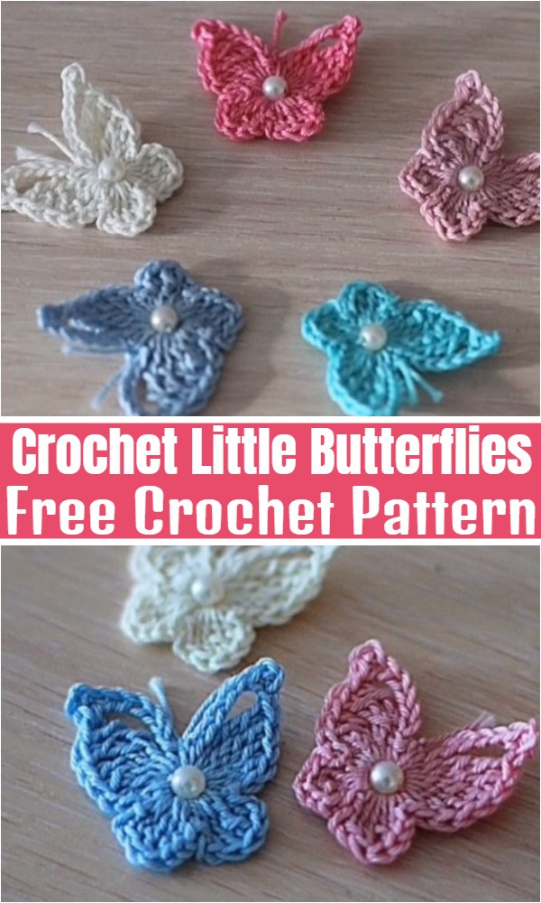 Crochet Little Butterflies