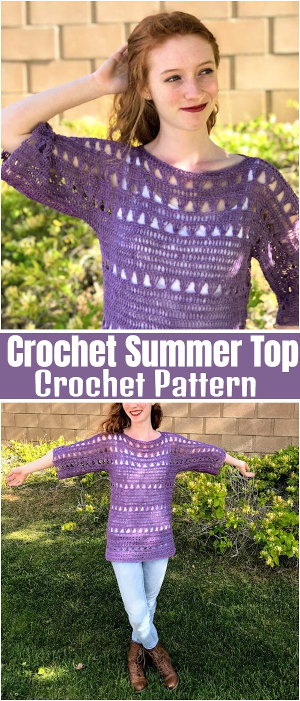 Crochet Summer Top Pattern