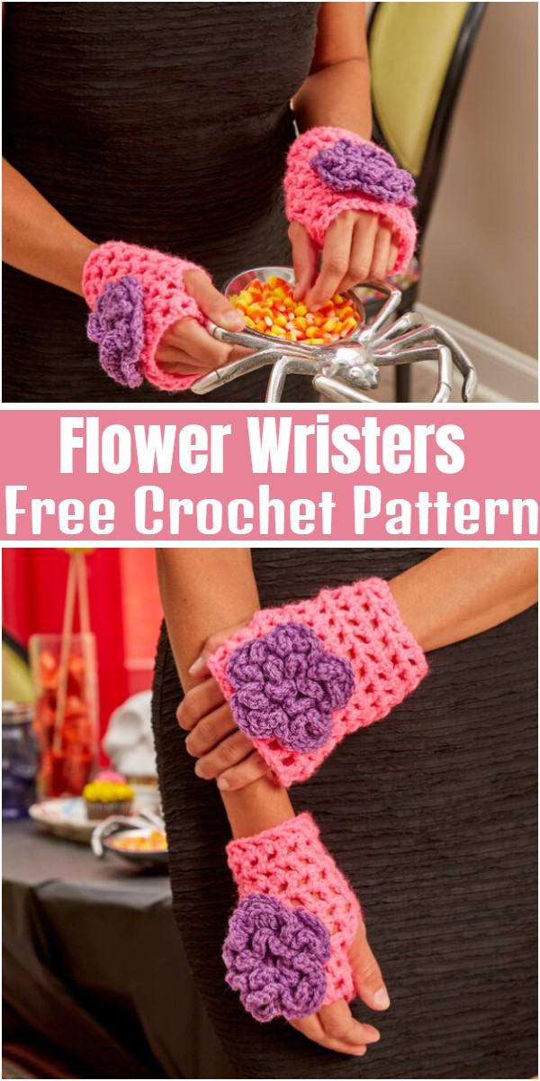 Flower Wristers