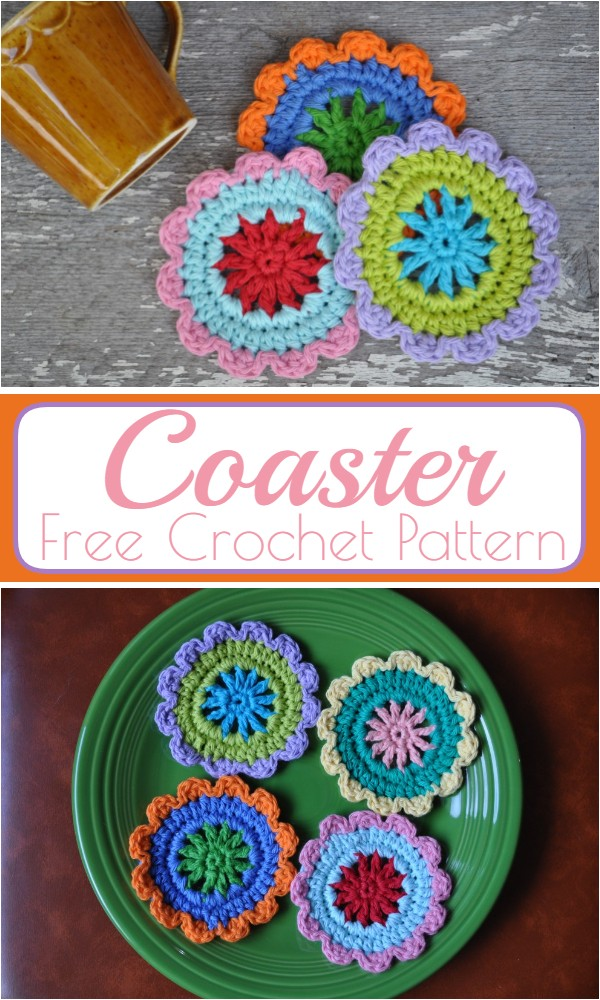 Free Coaster Crochet Pattern