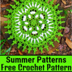Gorgeous And Very Functional Free Crochet Summer Patterns