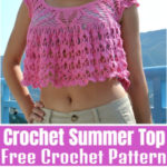 Free Crochet summer Top Pattern