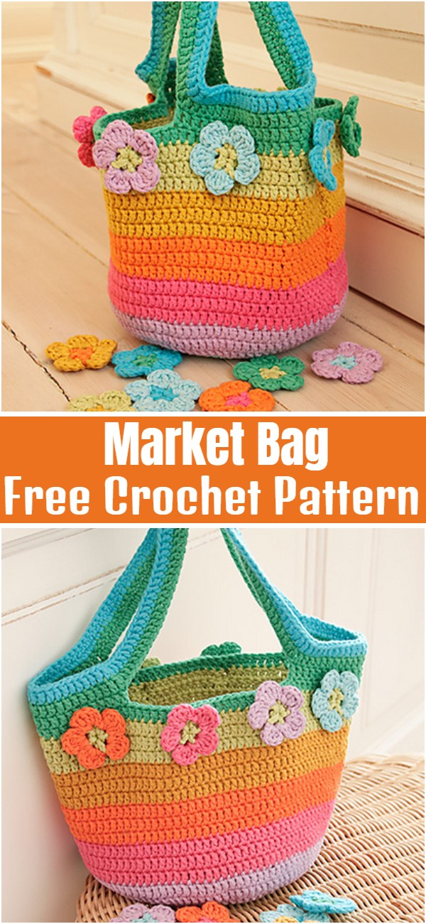 Market Bag Free Crochet Pattern