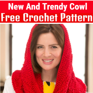 New And Trendy Free Crochet Cowl Patterns