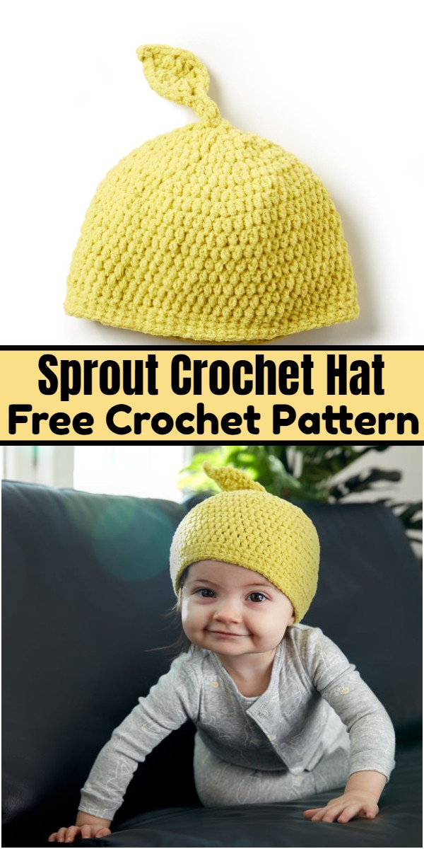 Sprout Crochet Hat