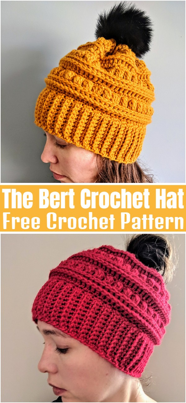 The Bert Crochet Hat Pattern