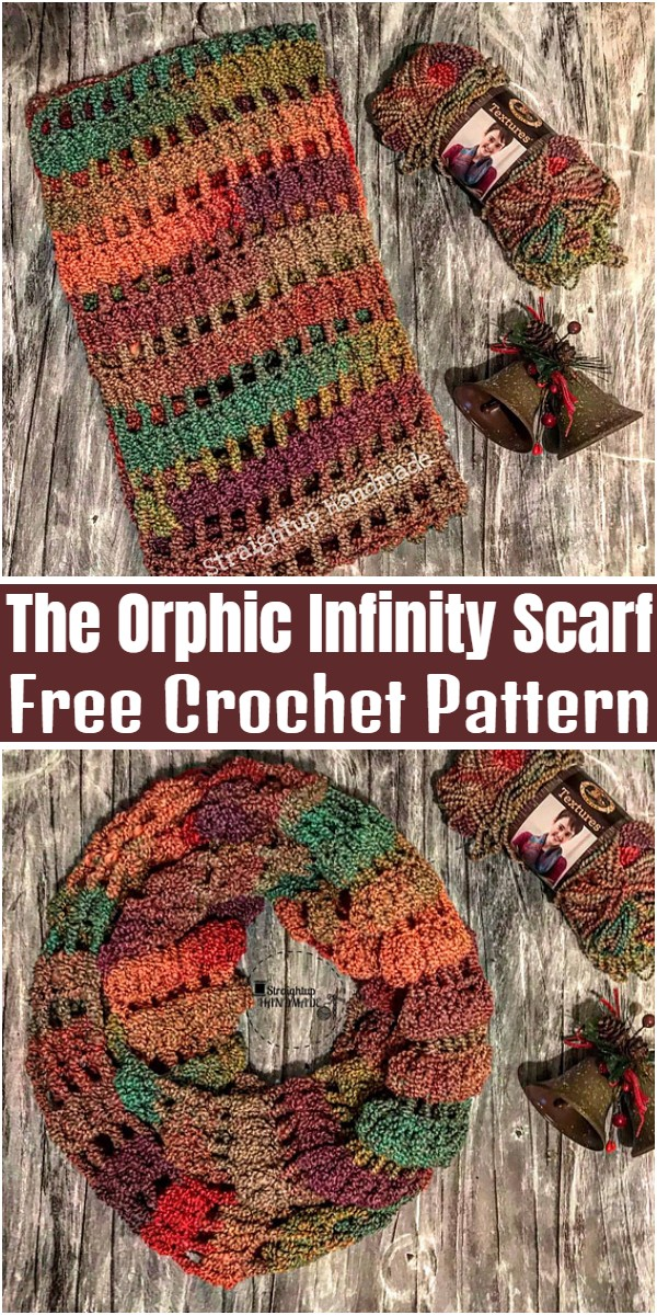 The Orphic Infinity Scarf Free Crochet Pattern