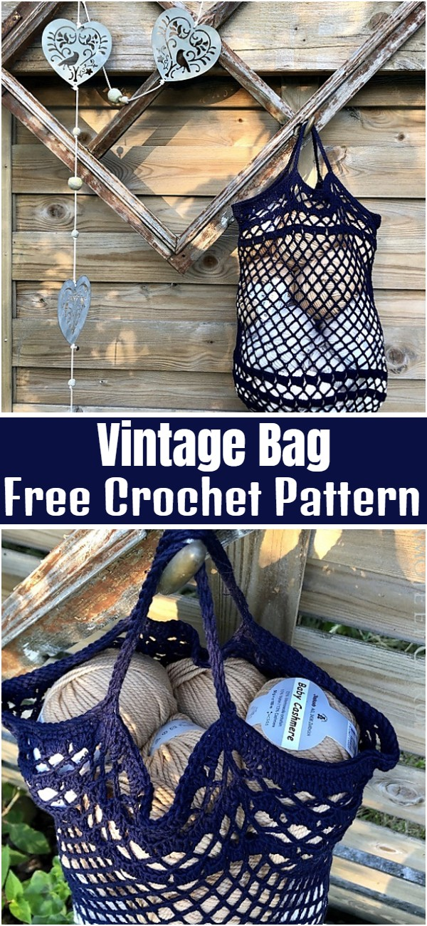 Vintage Bag Free Crochet Pattern