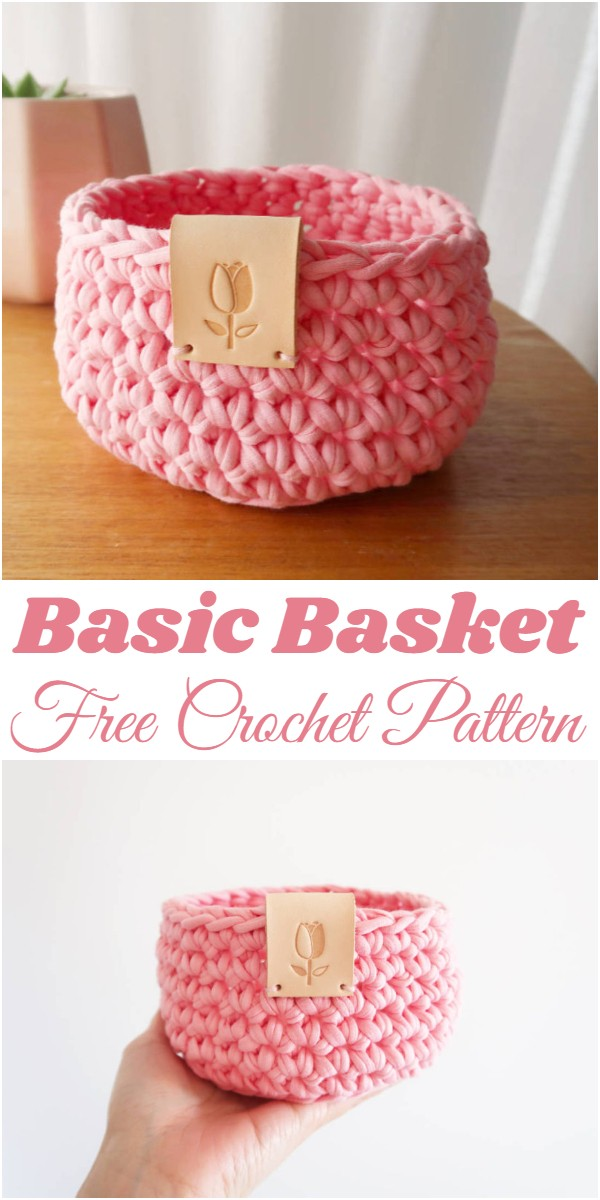Crochet Basic Basket Pattern