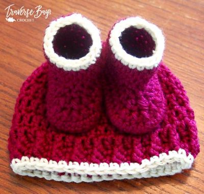 Free Crochet Simple Baby Hat Pattern