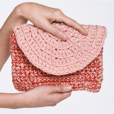Circle Clutch Bag Free Crochet Pattern
