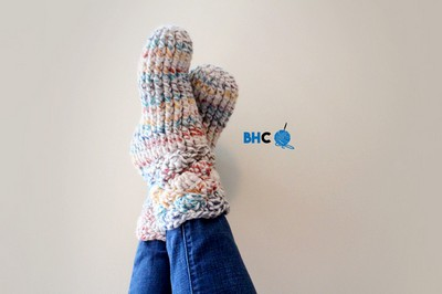 Cozy Crochet Slipper Socks