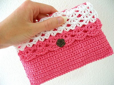 Crochet Clutch Perfect Purse