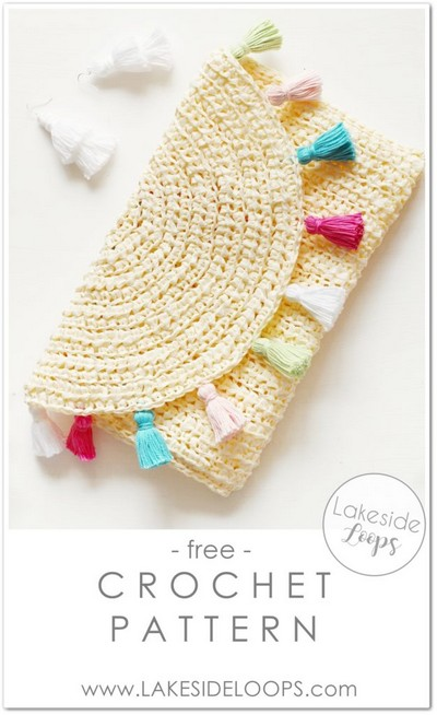 Evelyn Crochet Clutch