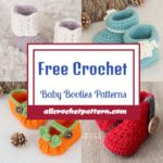 Cozy And Free Crochet Baby Booties Patterns