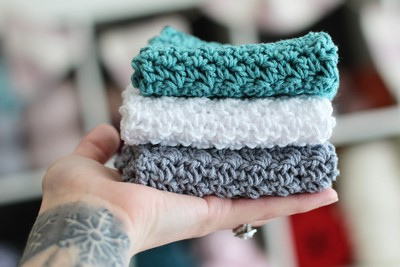 Handmade Crochet Dish Cloth Pattern