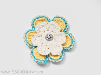 Learn To Crochet A Spring Flower
