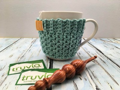Quick And Easy Mug Cozy Free Crochet Pattern