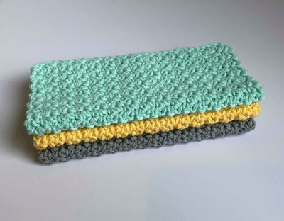 Sunshine Dishcloth Free Crochet Pattern