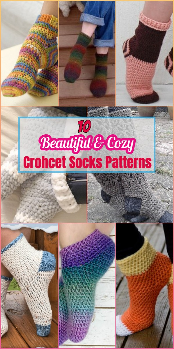crochet socks patterns