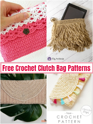 Free Crochet Clutch Bag Patterns
