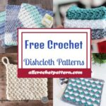 Free Crochet Dishcloth Patterns - Quick And Easy Crochet Dishcloth